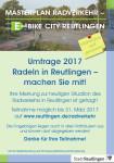 Umfrage Radverkehr Reutlingen