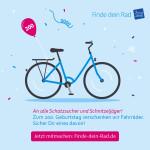 Fahrradsuchaktion Plakat