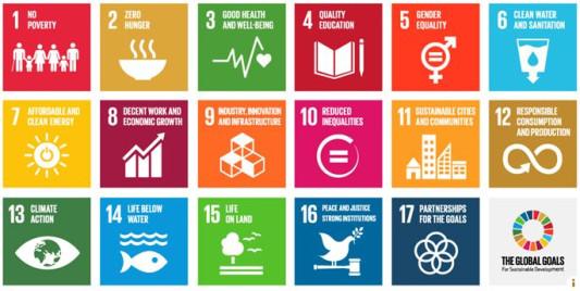 Übersicht Die Globalen Ziele für nachhaltige Entwicklung